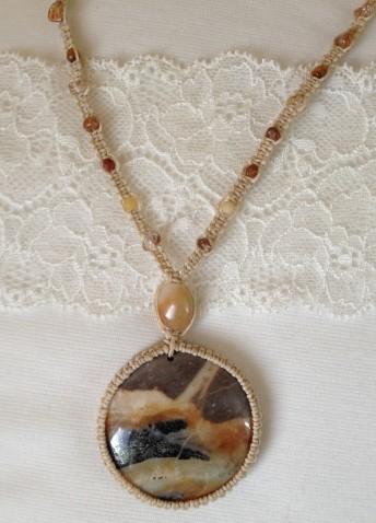תליון אבן אמזונייט - למכירה