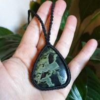 שרשת אבן ג'ספר ירוקה קמבבה