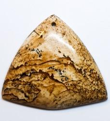 אבן פיקצ'ר ג'ספר (גספר ציור) מוחלקת למקרמה