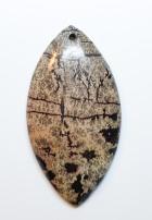 אבן פיקצ'ר ג'ספר מוחלקת למאלה