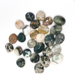 חרוזי אבן טבעית אושן ג'ספר